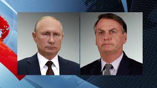 Развитие сотрудничества России и Бразилии в разных сферах обсудили президенты двух стран.