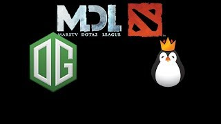 OG vs Team Kinguin 2017 Mars Dota 2 League Highlights Dota 2