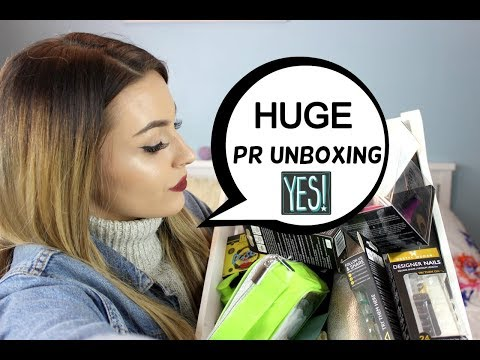 OMG what have I received! Huge PR Unboxing!