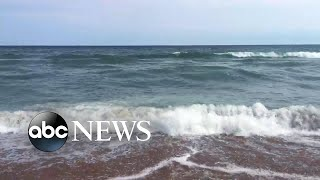 A suspected shark attack has been reported off the coast of North Carolina
