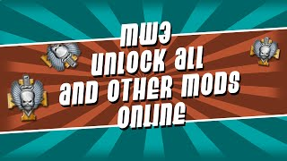 ps3 mw3 1 24 unlock all god mode invisible classes service description