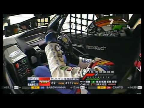 V8 Supercars : Mark Winterbottom Onboard (Winton 2007)