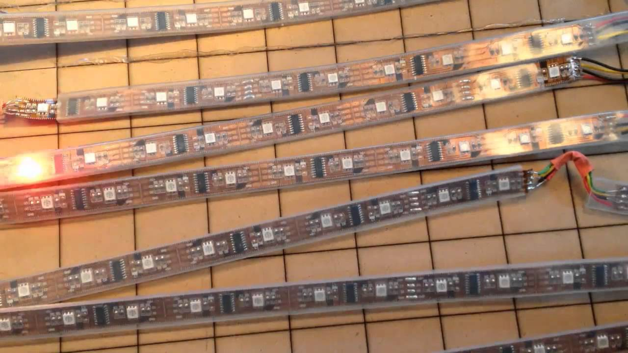 Arduino for beginners creating a led matrix doovi