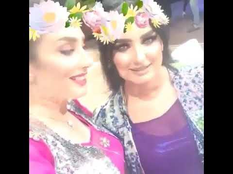 shara ebrahim & kaylan 2017 snapchat la programi male ema 😍😍