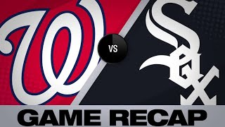 6/10/19: Nats pile up 16 hits, 12 runs in easy win Video
