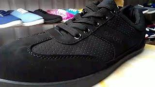Обзор обуви! Кроссовки  SPORT TROPS  черного цвета