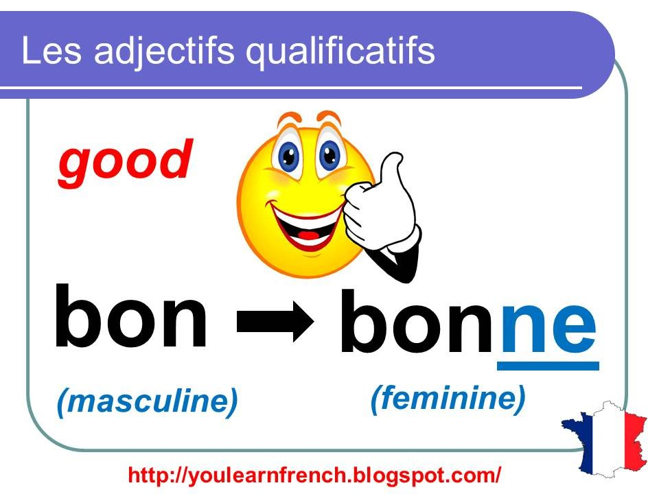 French Lesson 94 Adjectives Singular Plural Agreement Rules