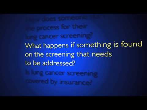 Lung Cancer Screening | Q&A