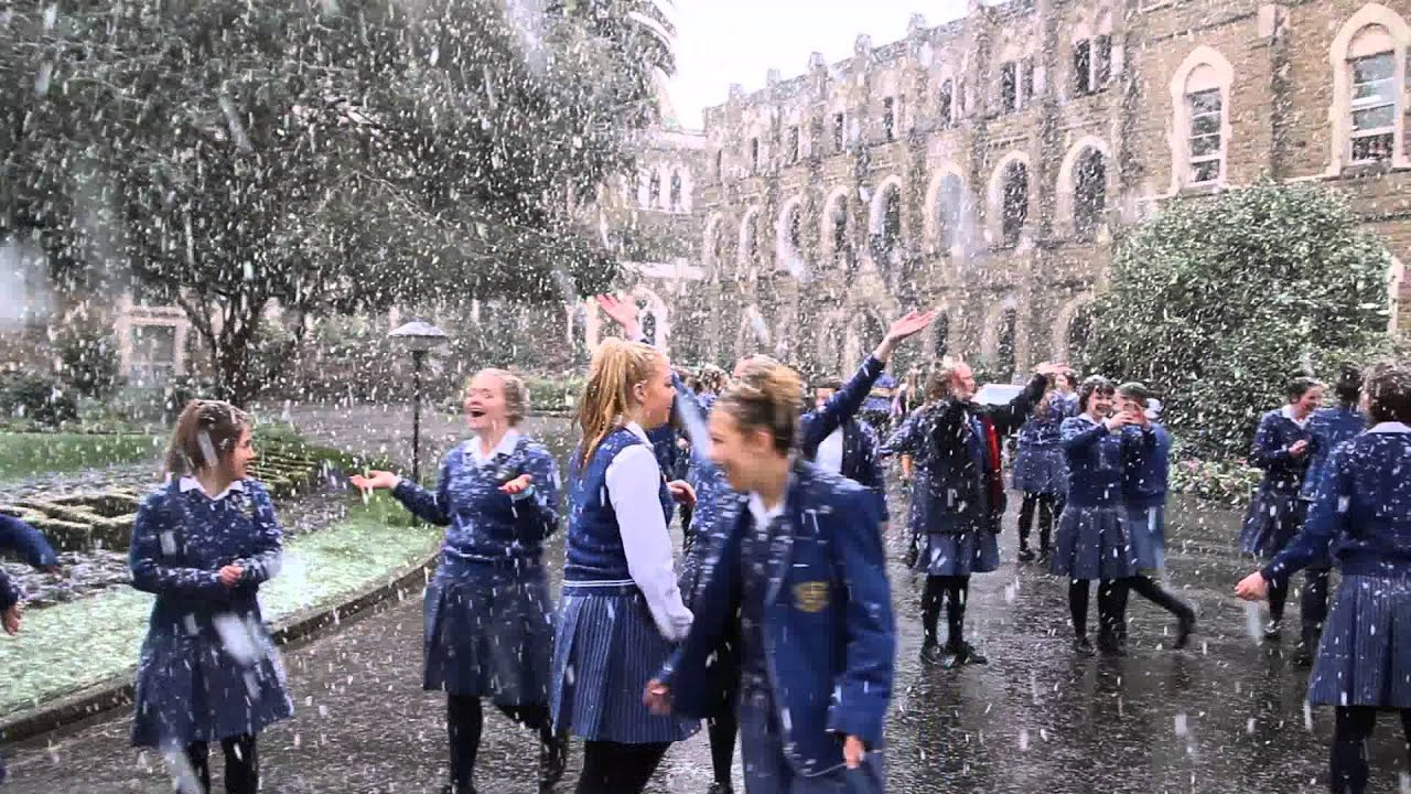 Snow at Loreto College Ballarat - August 2014