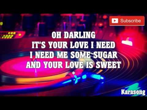 GIMME SOME - JIMMY BO HORNE ( KARAOKE )