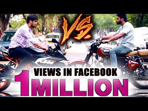 KTM Vs Royal Enfield   Who Will Win ?   Funny Fight Between KTM & RE Bikers   Must Watch For Bikers