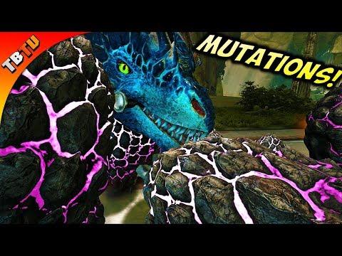 MASS ROCK DRAKE BREEDING AND COLOR MUTATIONS! Ark Aberration DLC Gameplay