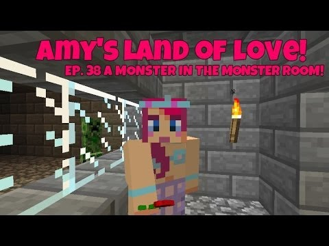 Amy's Land Of Love! Ep.38 A Monster, In The Monster Room! | Amy Lee33
