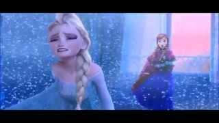 Холодное сердце - клип на песню мельницы -Королева