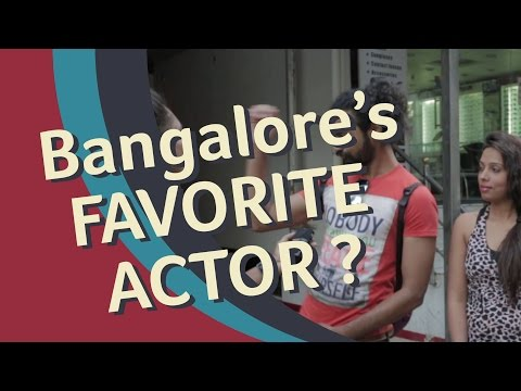 Bangalore's Favorite Bollywood Star!