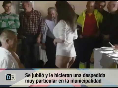 Despedida en la municipalidad