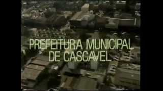 Intervalo Comercial da TV Tarobá de Cascavel/PR - 09/11/1986