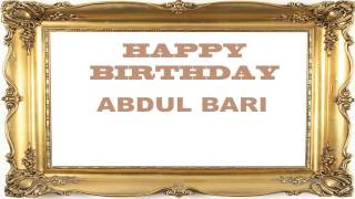 AbdulBari   Birthday Postcards & Postales - Happy Birthday