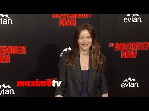 Saffron Burrows | The November Man Premiere | Red Carpet Arrivals