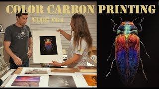 Color Carbon Printing / Vlog 64