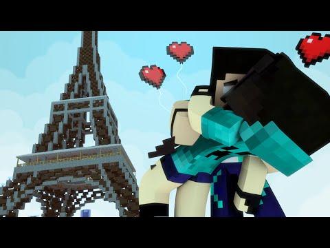 Minecraft: VIDA REAL - #61 LUA DE MEL EM PARIS! - Comes Alive Mod