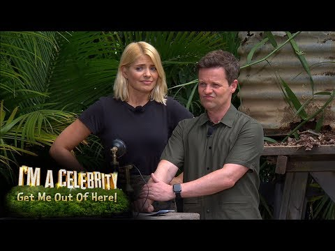 Holly Struggles to Watch Dreaded Deliveries Eating Trial | I'm a Celebrity... Get Me Out of Here!