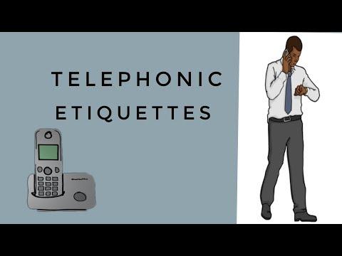 Telephonic Etiquettes,(Business Communication Skills.)