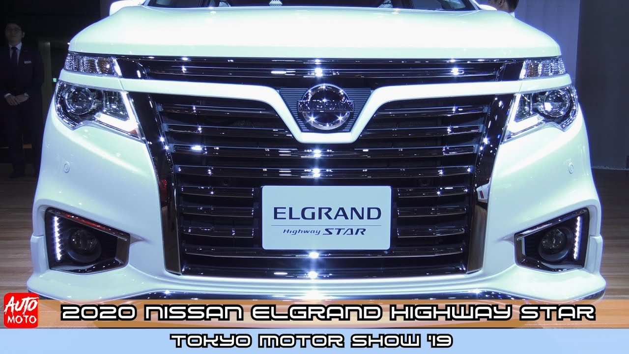 2020 Nissan Elgrand Highway Star Exterior And Interior Tokyo Motor Show 2019 Youtube