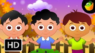 The Mulberry Bush  - English Nursery Rhymes - Cartoon/Animated Rhymes For Kids
