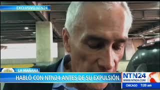 """Jorge Ramos: """"cuando Maduro se fue de la entrevista le dije 'eso es lo que haría un dictador'"""""""
