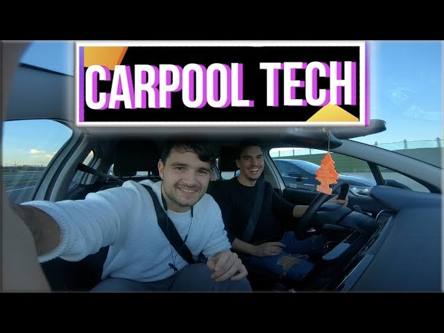 Carpool Talk and Tech con Sgnoogle e Marco Padula | EP. 1 ST. 1