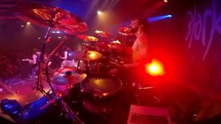 Boris Balogh from Black Inhale - WARNING (Live Drum Cam)