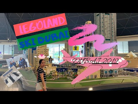 LEGOLAND AND SKI DUBAI TOUR! (DUBAI PART 3)