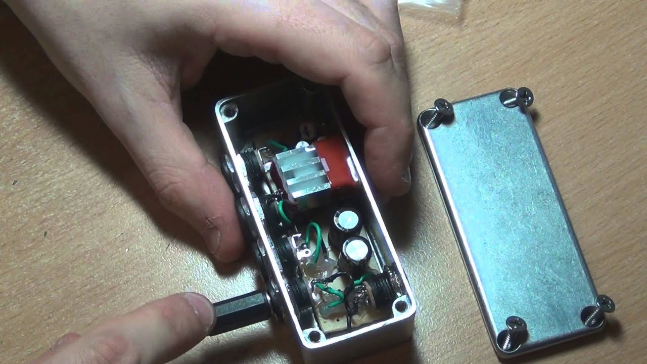 diy guitar pedal power filter regulator build report youtube. Black Bedroom Furniture Sets. Home Design Ideas