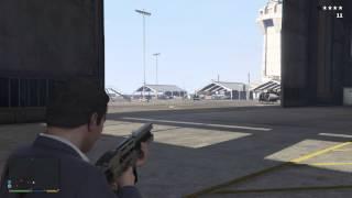 GTA 5 Railgun vs Tank