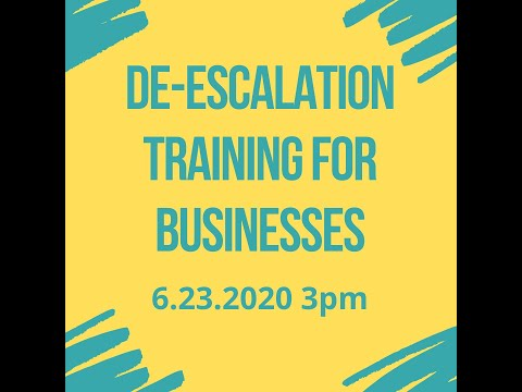 De-Escalation Techniques for Businesses