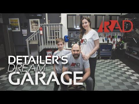 DETAILER'S DREAM GARAGE /// From a Standard Double Garage to a World Class Detailing Theatre