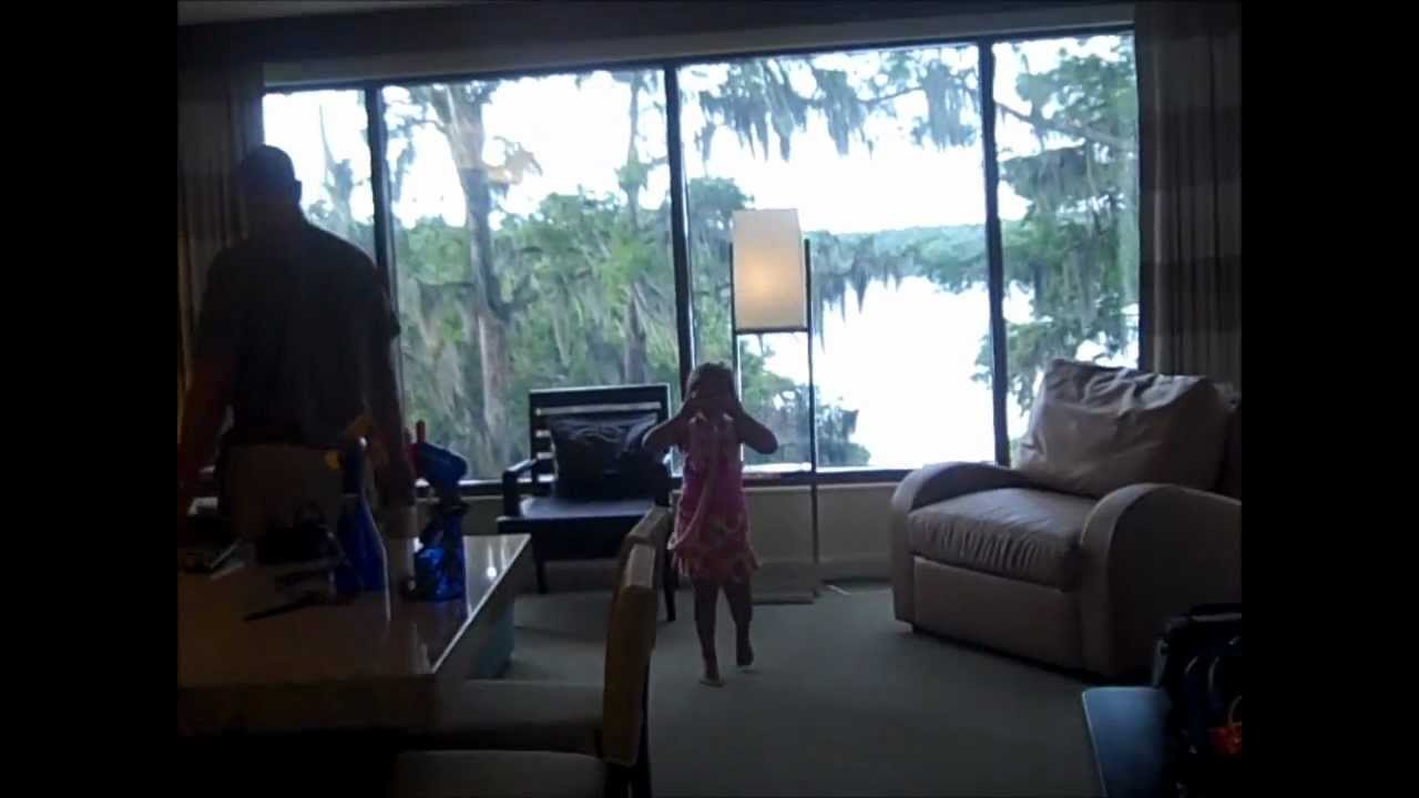 Tour Of Bay Lake Tower 39 S 1 Bedroom Villa 2016 Youtube