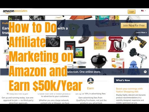 How to Do Affiliate Marketing on Amazon and Make $50k/Year