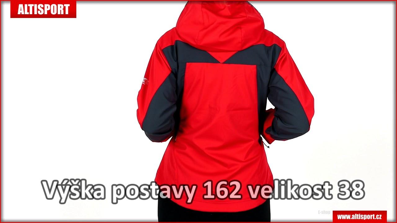 dámská sportovní bunda trimm ventura redgrey - YouTube a27e9b335cd