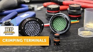 How To Crimp   Professional Terminal Crimping [FREE LESSON]