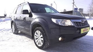 2013 Subaru Forester 2.0. Start Up, Engine, and In Depth Tour.