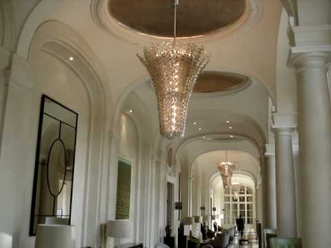 Trianon Palace Hotel Tour - Versailles France