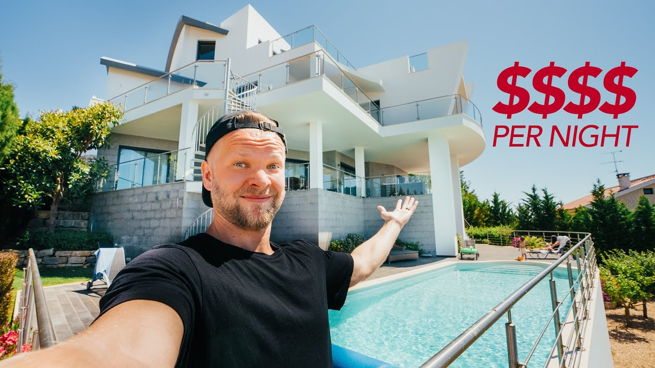 Portugal Villa Tour // Guess How Much This Place Costs To Rent?