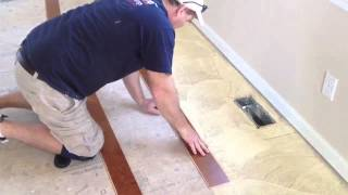 How To Install An Engineered Hardwood Floor Gluedowm