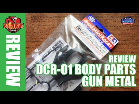Mini 4WD Unboxing - DCR-01 Body Set (Gun Metal)