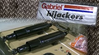 "98 S10 New Shocks ""Gabrial Hijackers"" Air Adjustable Shocks"
