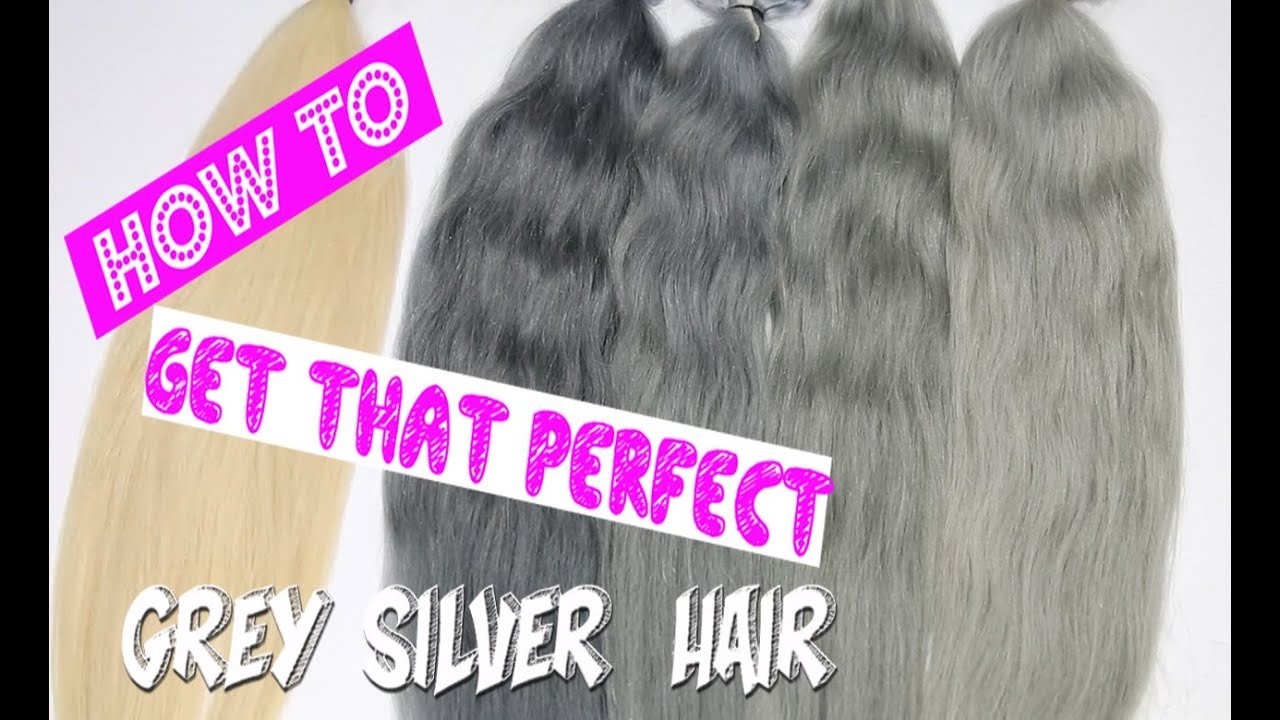 How To Get Grey Silver Hair 6 Ways Full Step By Step