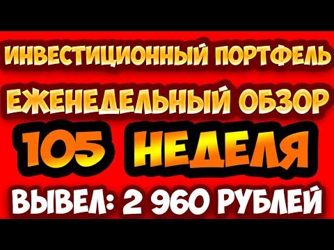 Инвестиционный портфель еженедельный обзор экономических игр №105