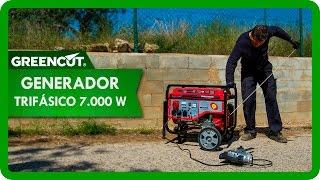 Générateur triphasé essence 7000W